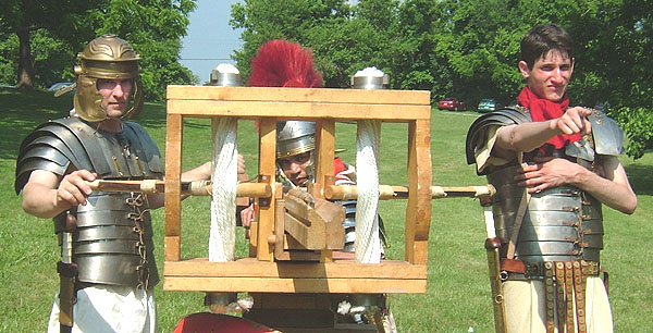 how to build a roman ballista