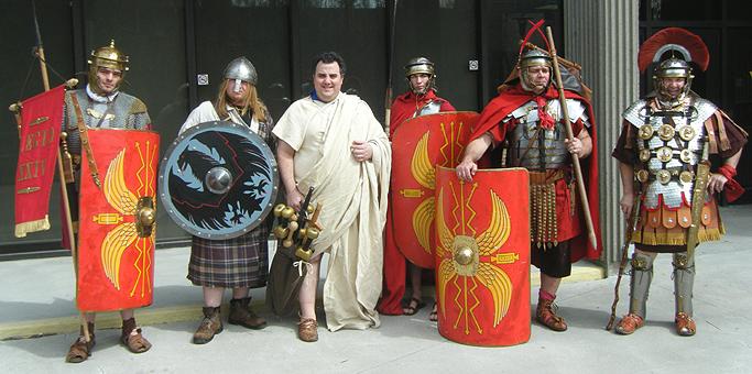 Image Gallery Roman People